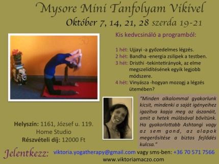 Mysore Mini Oktober